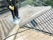 Next, We Pressure Clean Your Roof To Remove All Moss, Lichen, Dirt And Grime